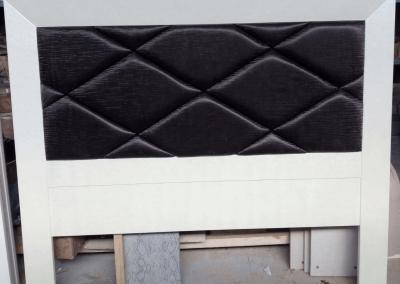 Cabecero - tapizado en negro