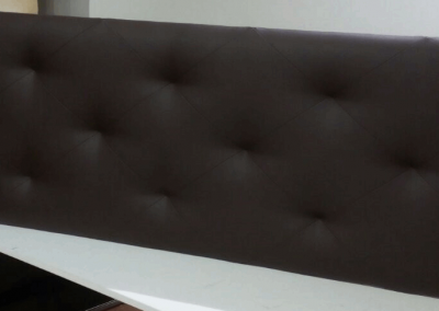 Cabecero - tapizados en negro