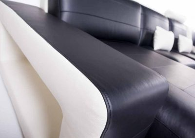 Detalle Sofá Rinconera - Modelo Space - Chaise-longue