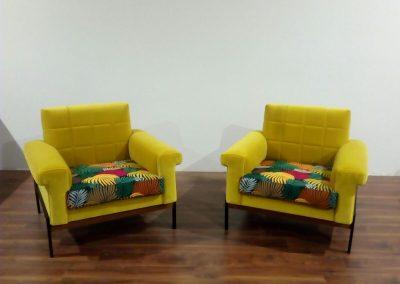 Retapizados Medina del Campo - Sillones Multicolor amarillo