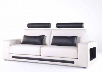 Sofá Tapizado - Modelo Space de tres plazas